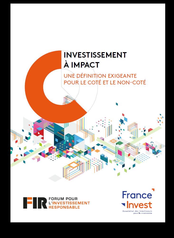 Cahier définition investissement à impact