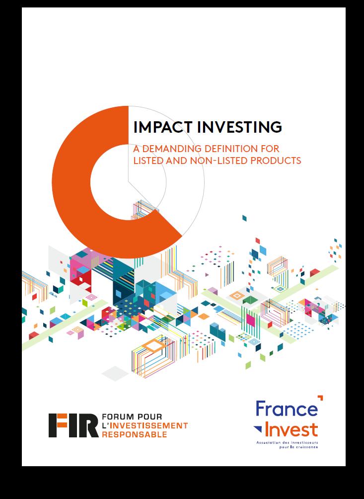 Handbook definition impact investing